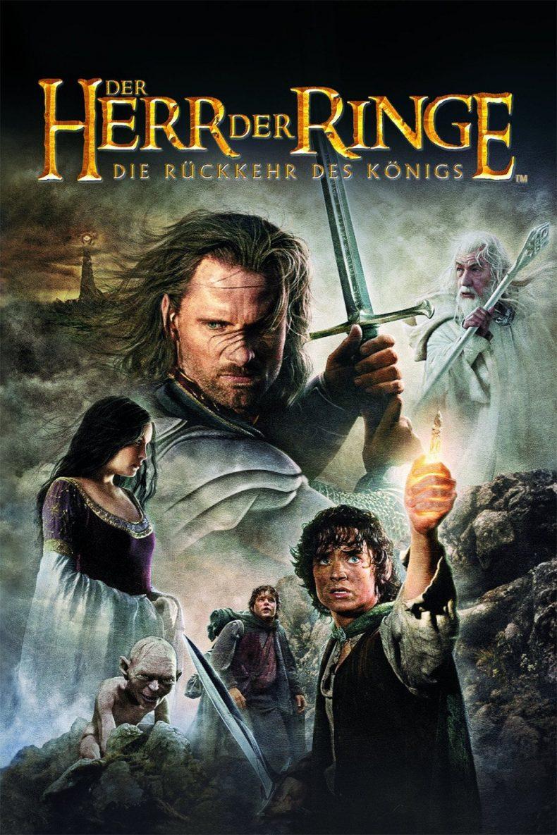 """Plakat von """"Der Herr der Ringe - Die Rückkehr des Königs"""""""