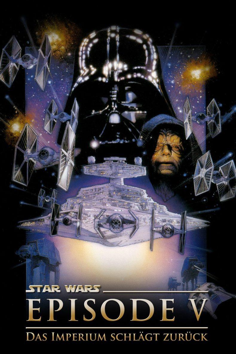 """Plakat von """"Star Wars: Episode V - Das Imperium schlägt zurück"""""""
