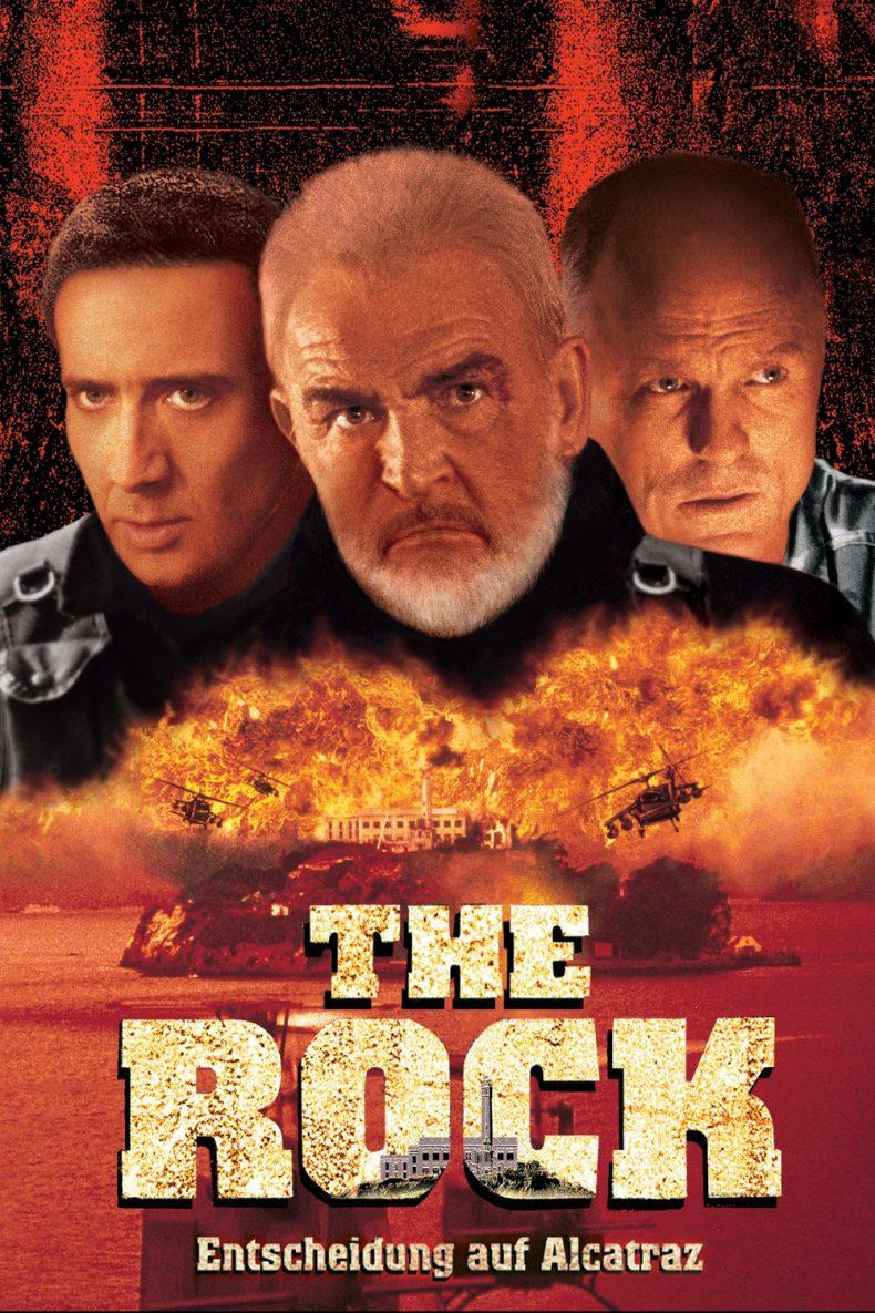 """Plakat von """"The Rock - Fels der Entscheidung"""""""