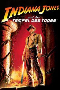 """Plakat von """"Indiana Jones und der Tempel des Todes"""""""
