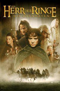 """Plakat von """"Der Herr der Ringe - Die Gefährten"""""""