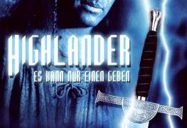 """Plakat von """"Highlander – Es kann nur einen geben"""""""