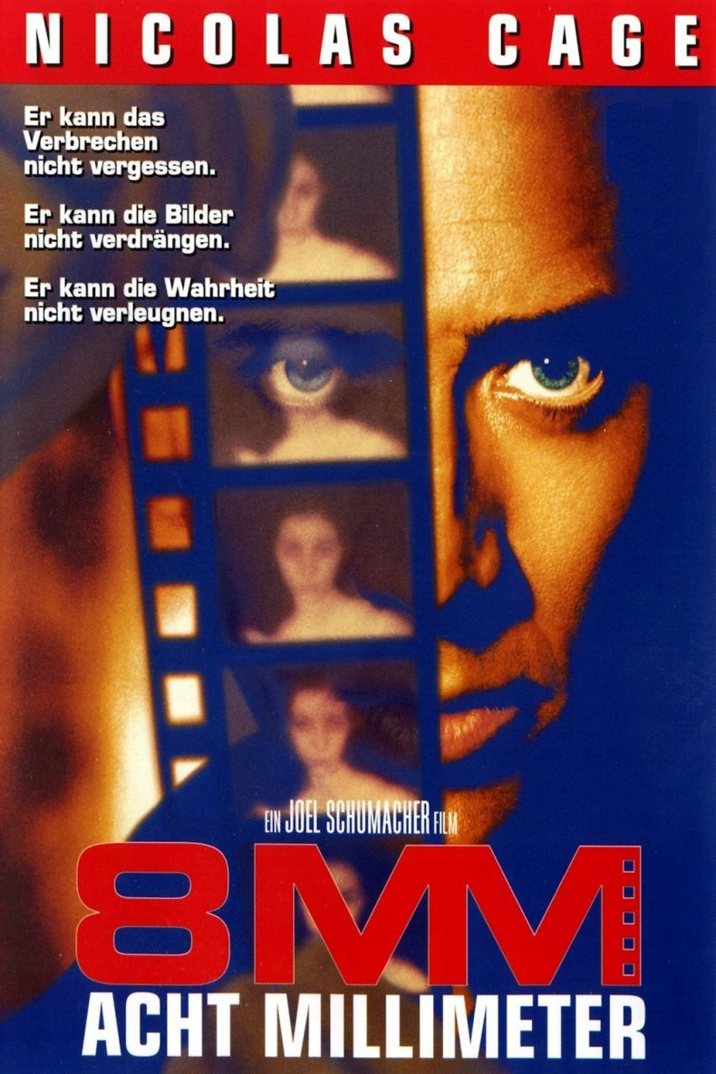 """Plakat von """"8MM - Acht Millimeter"""""""