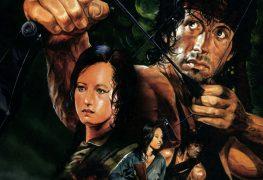 """Plakat von """"Rambo II - Der Auftrag"""""""