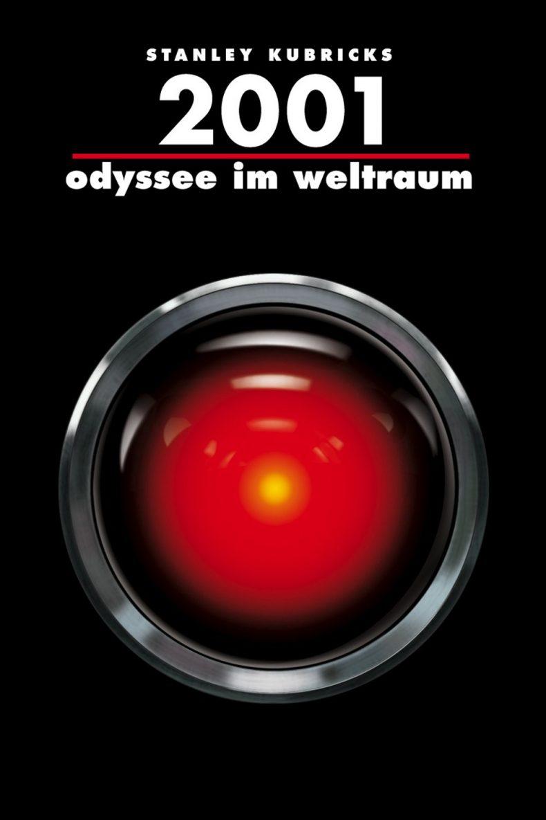 """Plakat von """"2001: Odyssee im Weltraum"""""""