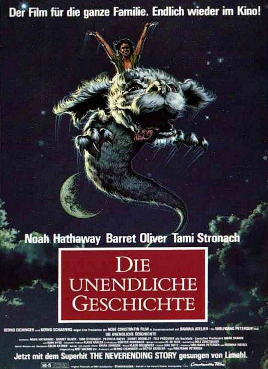 """Plakat von """"Die unendliche Geschichte"""""""