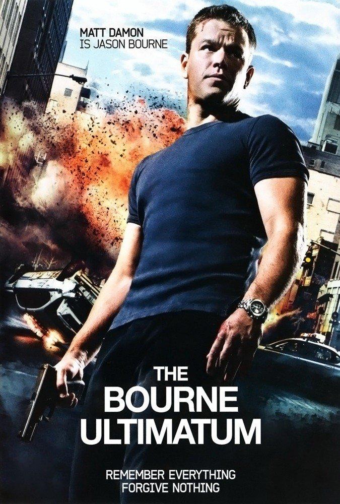 """Plakat von """"Das Bourne Ultimatum"""""""