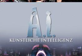 """Plakat von """"A.I.: Künstliche Intelligenz"""""""