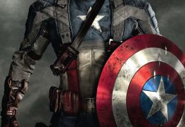 "Plakat von ""Captain America - The First Avenger"""