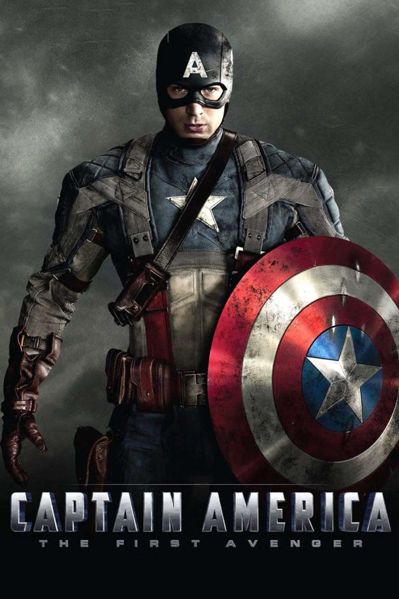 """Plakat von """"Captain America - The First Avenger"""""""
