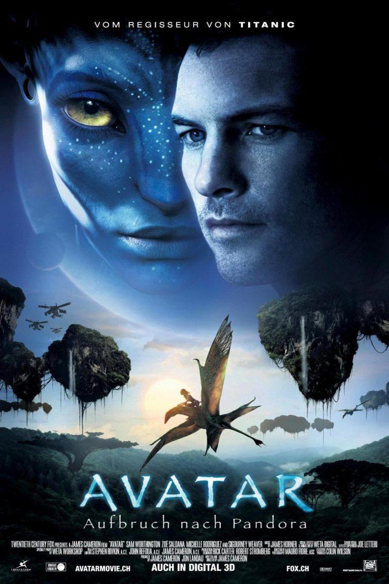 """Plakat von """"Avatar - Aufbruch nach Pandora"""""""
