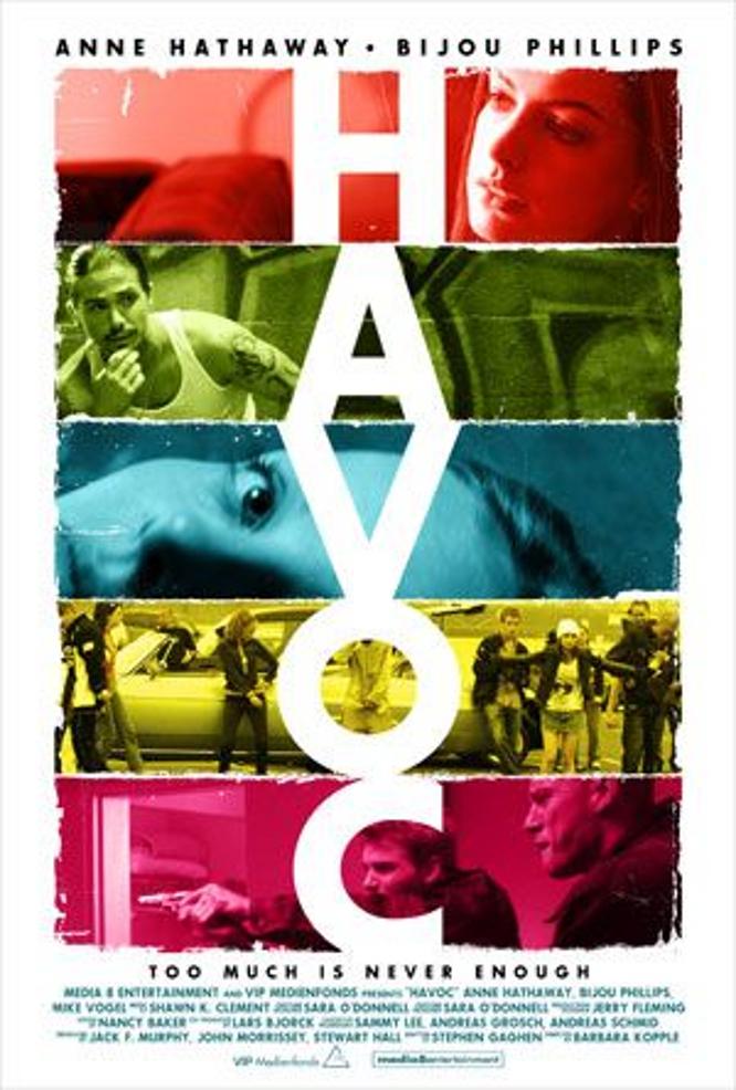 """Plakat von """"Havoc"""""""