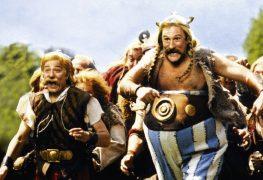 """Plakat von """"Asterix & Obelix gegen Caesar"""""""