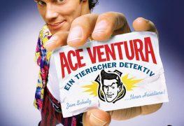 """Plakat von """"Ace Ventura - Ein tierischer Detektiv"""""""