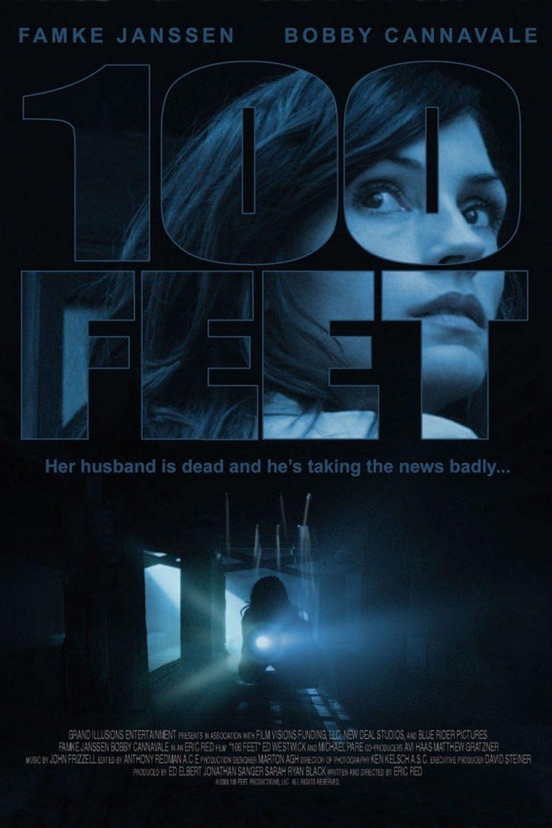 """Plakat von """"100 Feet - Wenn selbst der Tod nicht scheidet"""""""