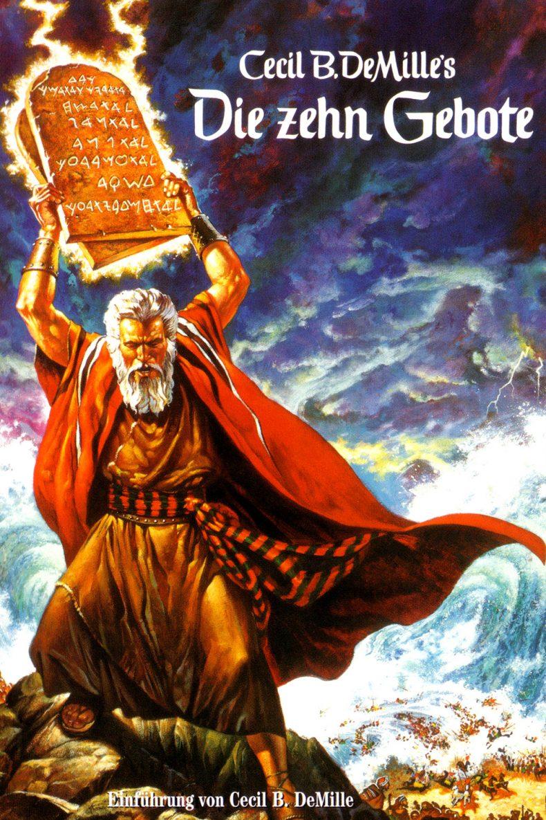 """Plakat von """"Die zehn Gebote"""""""