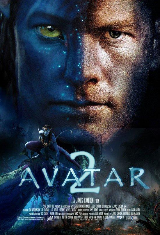 """Plakat von """"Avatar 2"""""""