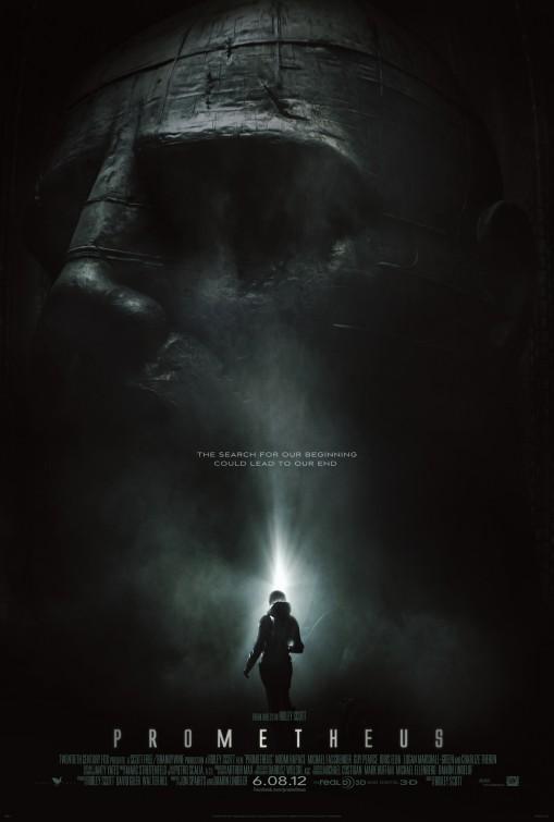 """Plakat von """"Prometheus - Dunkle Zeichen"""""""