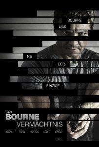 """Plakat von """"Das Bourne Vermächtnis"""""""