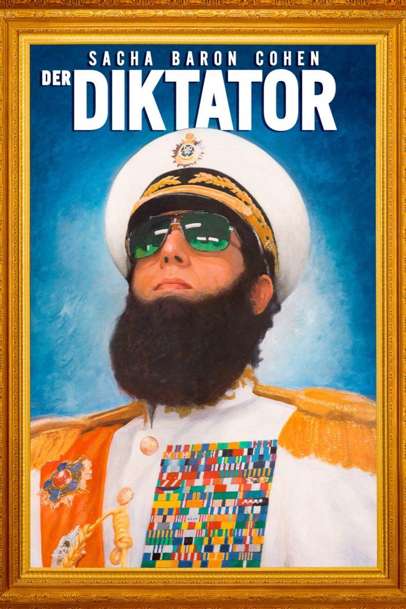 """Plakat von """"Der Diktator"""""""