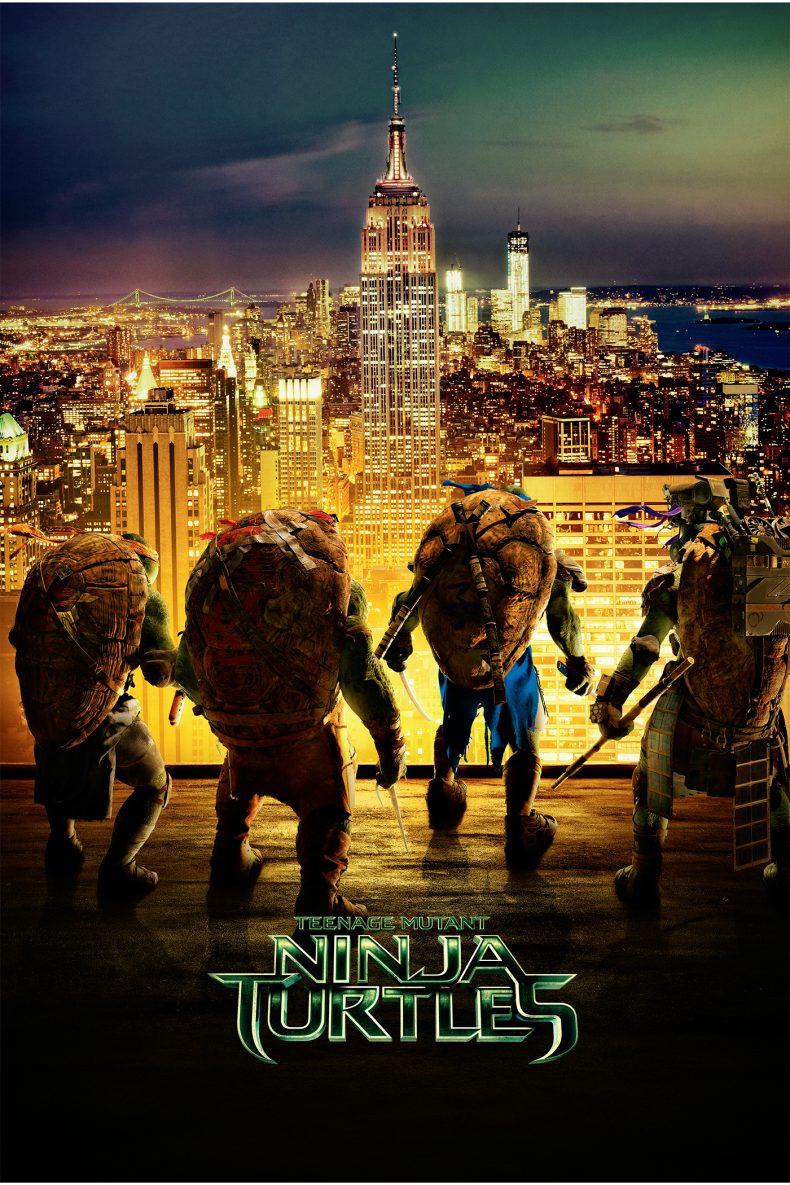 """Plakat von """"Teenage Mutant Ninja Turtles"""""""