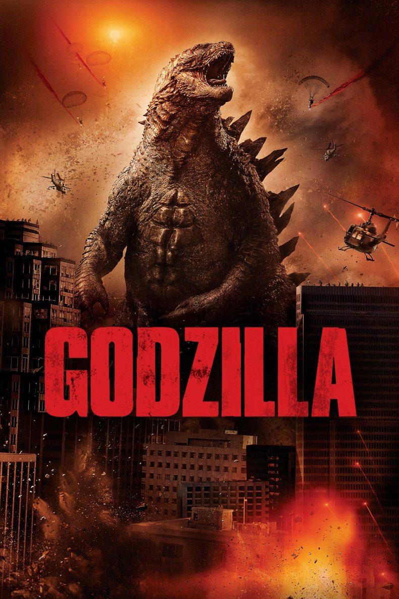 "Plakat von ""Godzilla"""