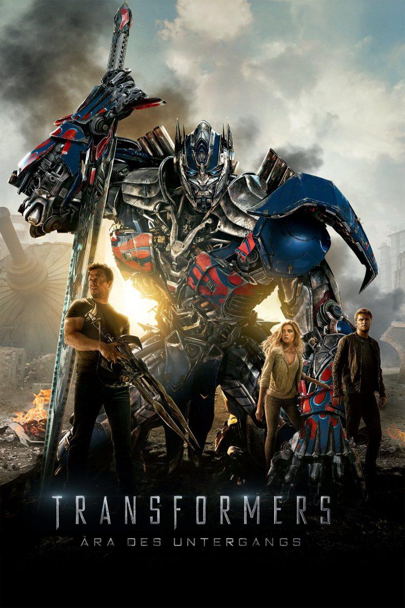 """Plakat von """"Transformers: Ära des Untergangs"""""""