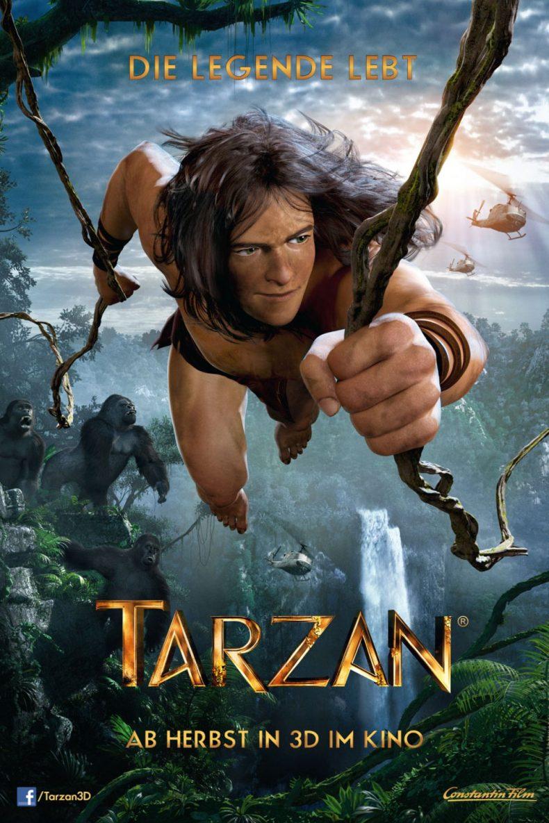 """Plakat von """"Tarzan 3D"""""""