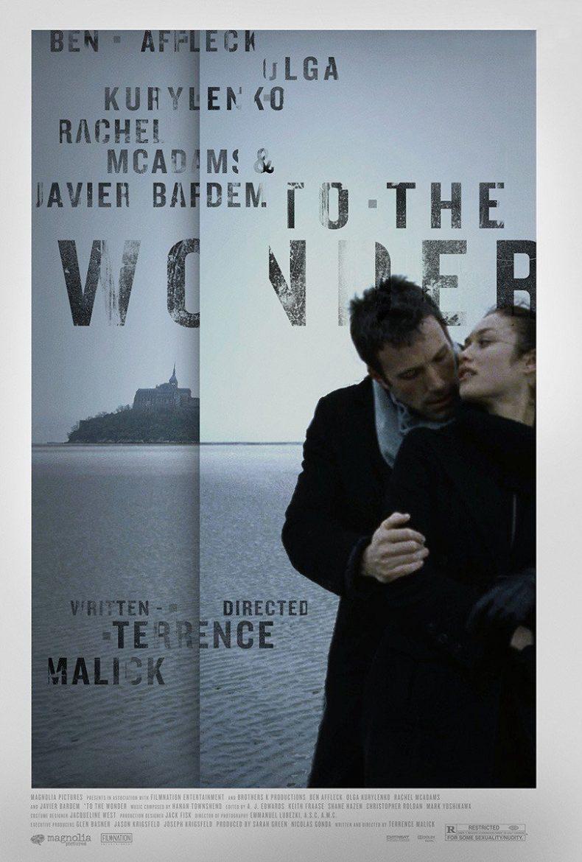 """Plakat von """"To The Wonder"""""""