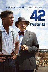 """Plakat von """"42 - Die wahre Geschichte einer Sportlegende"""""""