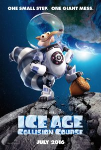 """Plakat von """"Ice Age - Kollision voraus!"""""""