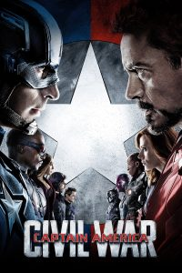 "Plakat von ""The First Avenger: Civil War"""