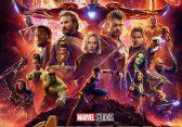 "Plakat von ""Avengers: Infinity War"""