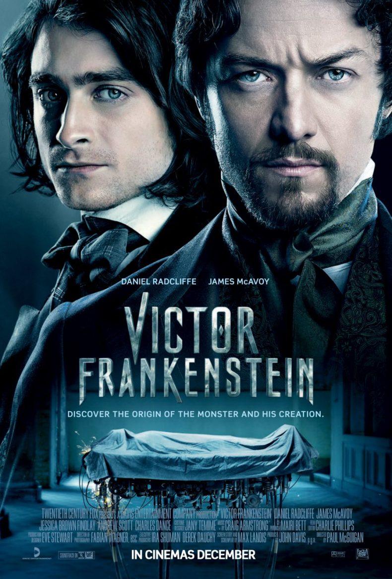 """Plakat von """"Victor Frankenstein - Genie und Wahnsinn"""""""