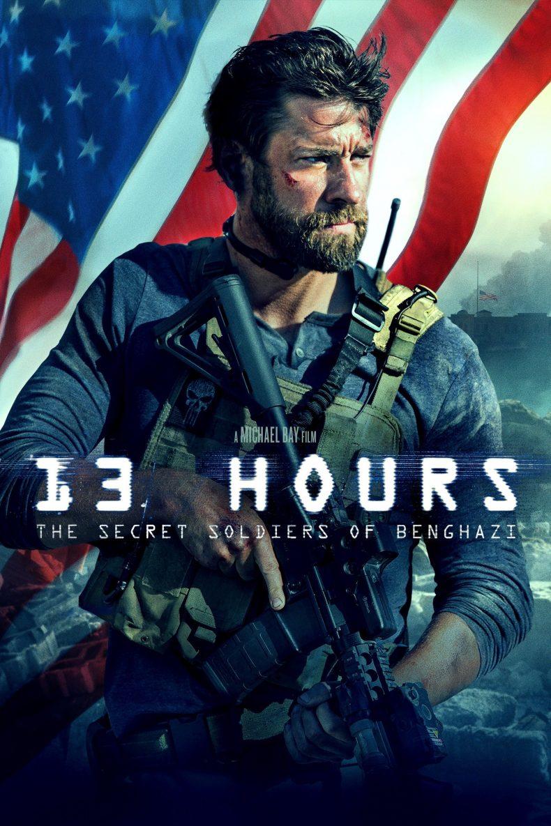 """Plakat von """"13 Stunden: Die Geheimen Soldaten von Benghazi"""""""