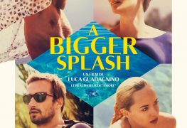"Plakat von ""A Bigger Splash"""