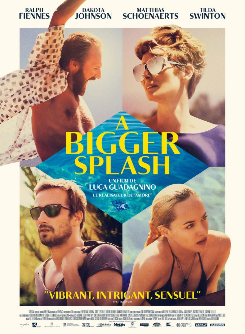 """Plakat von """"A Bigger Splash"""""""