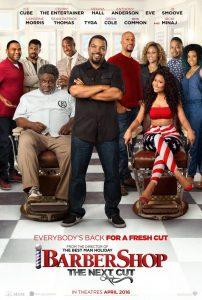 """Plakat von """"Barbershop: The Next Cut"""""""