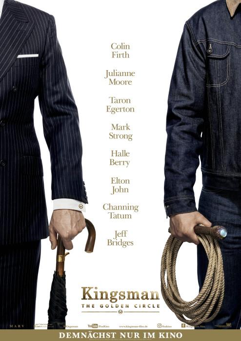 "Plakat von ""Kingsman: The Golden Circle"""