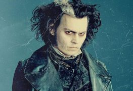 Johnny Depp als Sweeney Todd