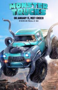 "Plakat von ""Monster Trucks"""