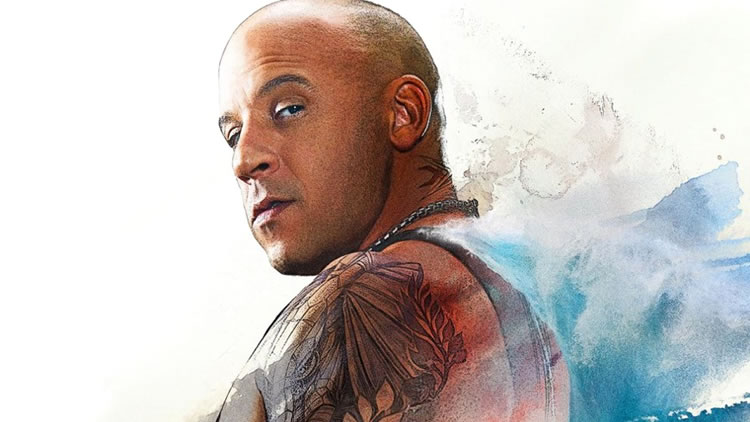 Vin Diesel in xXx: Return of Xander Cage