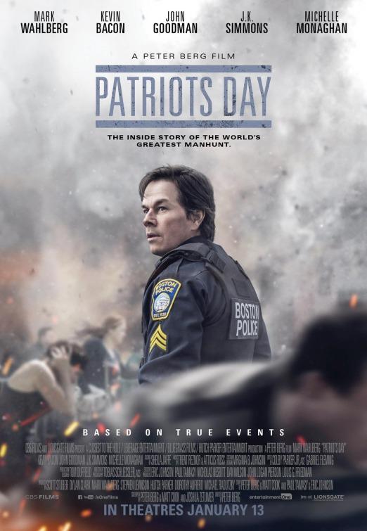 """Plakat von """"Patriots Day"""""""