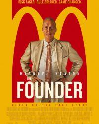 """Plakat von """"The Founder"""""""