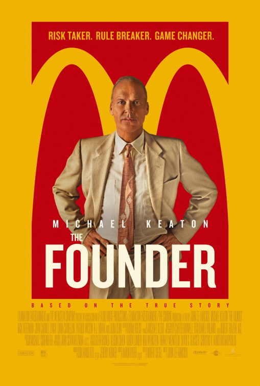 "Plakat von ""The Founder"""