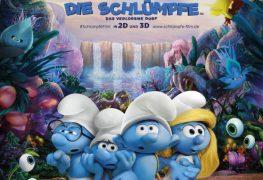 """Plakat von """"Die Schlümpfe: Das verlorene Dorf"""""""