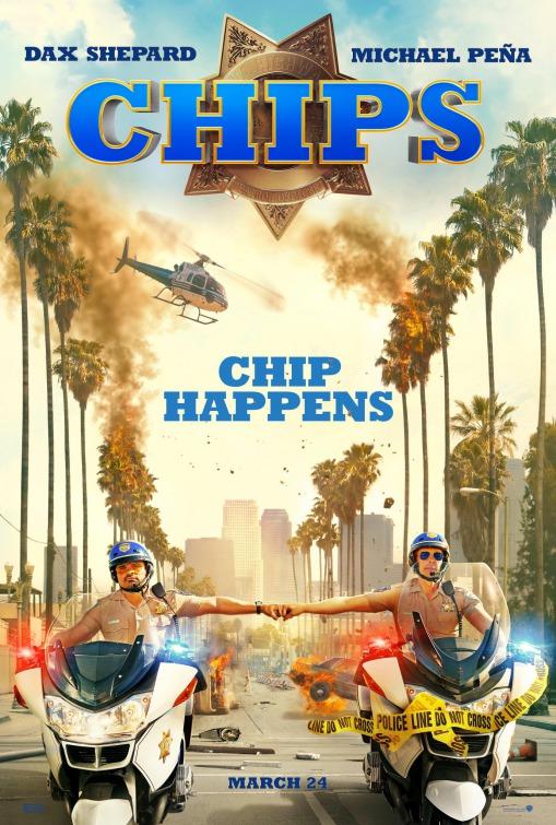 """Plakat von """"CHiPS"""""""