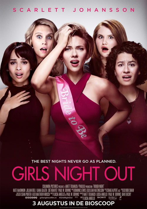 "Plakat von ""Girls' Night Out"""