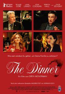 """Plakat von """"The Dinner"""""""