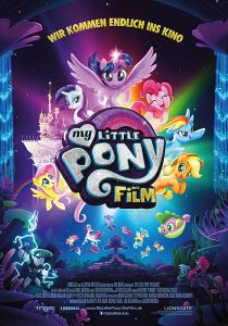 "Plakat von ""My Little Pony: Der Film"""